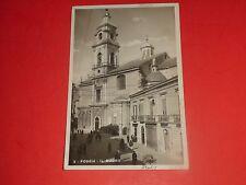 AF722 Vintage Postcard Foggia IL Duomo Italy