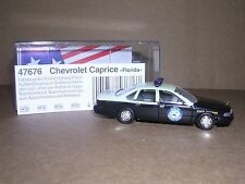 "BUSCH #47676  1995 Chevrolet Caprice ""Florida State Trooper""  H.O.Gauge"