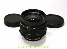 Russian Mir-1B wide-angle lens 2,8/37 mm M42 mount.Mint.№85024240.