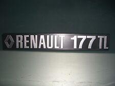 Emblem / Badge Renault 17 177 TL Spanien-/Italienausführung