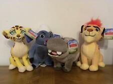 Disney Jr LION GUARD Plush KION FULI BESHTE BUNGA  Stuffed Toy LOT OF 4
