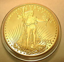USA 2003 oro Double Eagle Liberty 1933 PP moneta più costoso del mondo 32g Rep. NUOVO