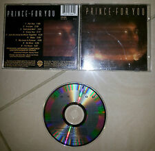 Prince For You 9 Track cd Early Press 1978 prima stampa warner bros records