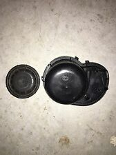 2001-2003 JAGUAR S-TYPE HEADLIGHT BACK COVERS CAPS PASSENGER SIDE OEM