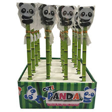 Panda Pencil with Eraser Top (Set 4)