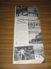 1951 Print Ad Travel in France Modern Bullfight French Government Tourist Office