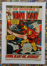 IRON MAN #51 - OCT 1972 - CYBORG SINISTER APPEARANCE! - VFN/NM (9.0) HIGH GRADE!