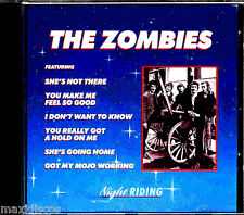 CD - THE ZOMBIES - NIGHT RIDING (POP PHSICODELIC 60's) NEW LISTEN - NUEVO OYELO