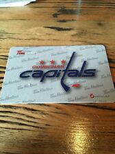 2015 Cowichan Capitals Tim HORTONS BCHL HOCKEY GIFT CARD Very Rare