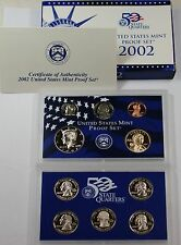 2002 U.S. Mint Proof Set in Original Government Packaging