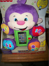 """Fisher-price Laugh & Learn Apptivity Monkey 75"""" songs tunes more IPhone New"""