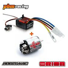 Team Orion Method Pro 17t 540 Brushed Electric RC Motor / Hobbywing ESC Combo