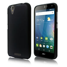 Opaque Black Matte TPU Gel Case Cover for Acer Liquid Z630 / Z630S