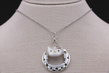 Kimora Lee Simmons Hello Kitty Necklace in 925 Sterling Silver