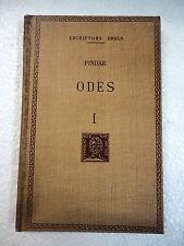 Escriptors Grecs,Odes I Pindar,F.Bernat Metge 1957
