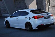 ZEST Wing Type Rear Lip for KIA Forte K3 Sedan 2014+