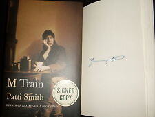 Patti Smith signed M Train first 1st printing hardcover book