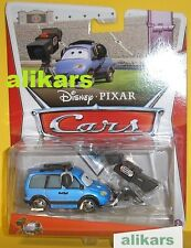MB - CHUCK CHOKE CABLES Deluxe  # 4/8 Disney Cars voiture modellino Le Cameraman