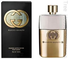 Treehouse: Gucci Guilty Pour Homme Diamond Limited Edition EDT Perfume Men 90ml
