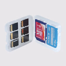 1SD + 1MS + 6TF Memory Cards Protecter Box Storage Holder Carrying Plastic Case
