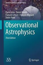Observational Astrophysics by Pierre Lena Hardcover Book (English)