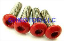 90 91 92 93 94 95 96 97 VFR750 RED COMPLETE FAIRING BOLTS SCREWS FASTENERS KIT