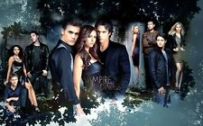 The Vampire Diaries TV Show Fabric Art Cloth Poster 40inch x 24inch Decor 72