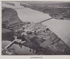 1912  --  LE PONTS DE CE   VUE AERIENNE   3F769