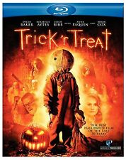TRICK R TREAT (Halloween Horror Movie) -  BLU RAY - Sealed Region B