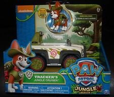 NIP brand new 2016  PAW PATROL TRACKER  JUNGLE RESCUE TRACKER'S CRUISER