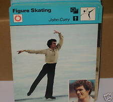john curry Figure skating winter sports Collector card