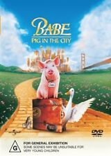●● BABE PIG IN THE CITY ●● (Dvd,2002) Magda Szubanski Mickey Rooney J Cromwell