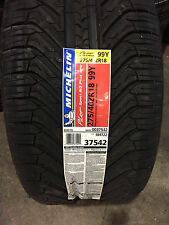 2 New 275 40 18 Michelin Pilot Sport A/S Plus ZP Run Flat Tires