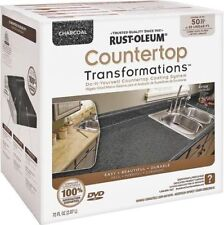 NEW RUSTOLEUM 258285 CHARCOAL TRANSFORMATIONS COUNTERTOP REFINISHING SYSTEM