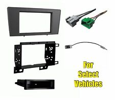 Car Stereo Radio Dash Install Mount Trim Bezel Face Kit Combo for select Volvo