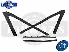 63-64 Impala Vent Window Weatherstrips Seal Hardtop / Convertible