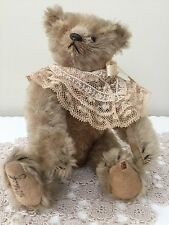 "ANTIQUES EARLY 1900's "" SIGNED, STEIFF TEDDY BEAR"""