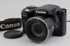 【B V.Good】Canon PowerShot SX500 IS 16.0 MP Digital Camera Black From JAPAN #2517