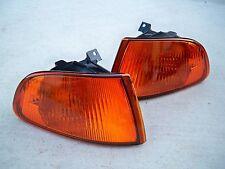 92-95 Honda Civic 2/3 Door EG EJ JDM Orange Amber Corner Light Blinker Parking