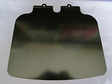 NORTON COMMANDO FASTBACK REAR LAMP NUMBER PLATE HOLDER BLACK PAINTED 06-2037