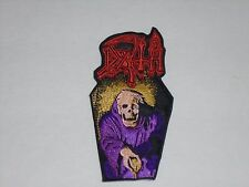 DEATH SCREAM BLOODY GORE EMBROIDERED PATCH