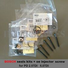 PD injector repair kit + 5 oe screws bolts VW Transporter T5 Multivan 2.5TDI