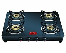 Prestige 4 Burner Marvel Gas Stove Glass Top  GTM 04