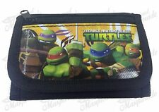 Nickelodeon Teenage Mutant Ninja Turtles TMNT Teen Boys Tri-Fold Wallet - Black