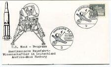 1964 US Mond Program Amerikanische Raumfahrt Deutschland Amerika Haus Hamburg