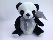 "Panda Bear Soft Plush Stuff Toy 7"" Sitting Age 3+ Zoo Animal NEW"
