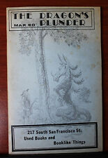 The Dragon's Plunder - Mar 1990 - Used Books and Booklike things -Flagstaff AZ