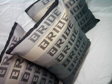 JDM Bride Fabric Ccloth Pillow Track Day Drift Rally Car back Seat Cushion Gift