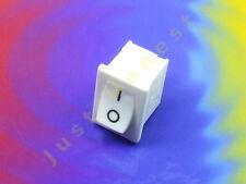 Schalter / Switch 250V / 3A WEISS / WHITE 21mm x 15mm  #A839