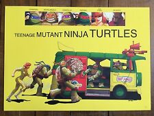 Teenage Mutant Ninja Turtles TMNT art print movie poster Little Miss Sunshine